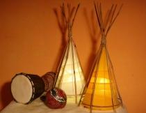 Bambusleuchten