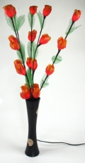 Beleuchteter Blumenstrauß Flower garden or