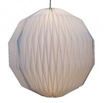 Design Papier Lampenschirm - Modell Lenos 2. Wahl