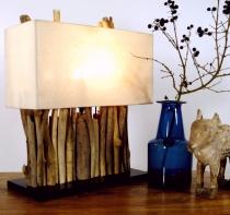 Naturelights, Tischlampen aus Naturmaterial