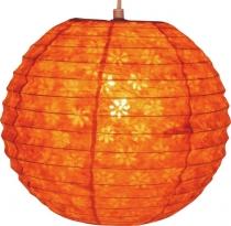 Papierlampenschirme kugelförmig