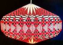 Origami-Faltlampenschirme
