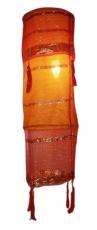 Lampenschirm Stoff Deckenlampe aus orientalischem Satinstoff - Scheherazade