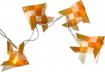 LED Lichterkette `mare` - weiß/gelb