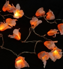 Lotus LED Lichterkette 20 Stk. - orange