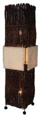 Stehlampe / Stehleuchte Benoa - in Bali handgemacht aus Naturmaterial, Luftwurzeln,