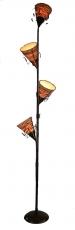 Stehlampe / Stehleuchte Kokopelli Camotes Floor 180 cm - Sonderpreis- exotische Leuchte aus Natur-Material