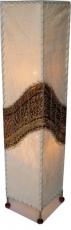 Stehlampe / Stehleuchte Siam - in Bali handgemacht aus Naturmaterial, Kokosfaser,