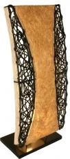 Tischlampe / Tischleuchte Tioman - in Bali handgemacht aus Naturmaterial