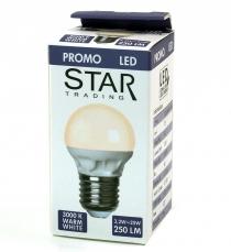 3,2 W LED Lampe E27 (250LM ~ 25W) - warmweiß