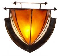 Henna - Leder Wandlampen