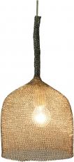 Deckenlampe / Deckenleuchte, Drahtleuchte lron Hat - handgefertigte Designleuchte, Drahtgeflecht