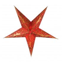 Faltbarer Advents Leucht Papierstern, Weihnachtsstern Artemis