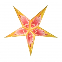 Faltbarer Advents Leucht Papierstern, Weihnachtsstern, Floria