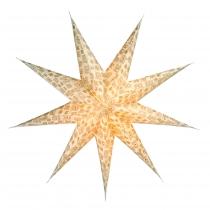 Faltbarer Advents Leucht Papierstern, Weihnachtsstern Canopus