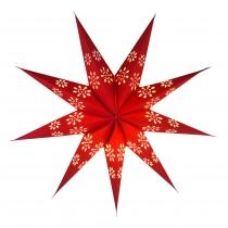 Faltbarer Advents Leucht Papierstern, Weihnachtsstern Phoenix
