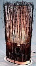 Tischlampe / Tischleuchte Kuta - in Bali handgemacht aus Naturmaterial