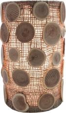 Tischlampe / Tischleuchte Granada - in Bali handgemacht aus Naturmaterial
