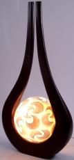 Natale Lichtobjekt - in Bali handgemacht aus Naturmaterial