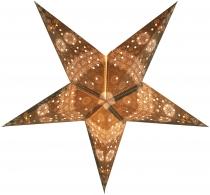 Faltbarer Advents Leucht Papierstern, Weihnachtsstern Triton