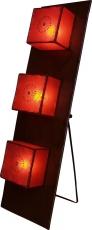Henna - Leder Stehlampe / Stehleuchte Kintamani