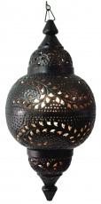 Metall Deckenleuchte in marrokanischem Design, orientalische Deckenlampe