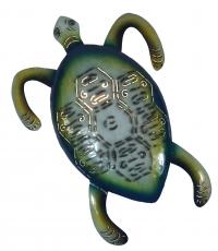 Wandlampe/Wandleuchte Turtle 2-colours- Kinderzimmer Lichtobjekt, handgefertigt aus Metall