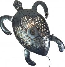 Wandlampe/Wandleuchte Turtle- Kinderzimmer Lichtobjekt, handgefertigt aus Metall