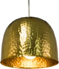 Messing Deckenlampe / Deckenleuchte Udaipur -1 , handgeschlagen Deckenlampe