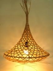 Design Deckenlampe / Deckenleuchte Tabana - in Bali handgemacht aus Naturmaterial, Rattan,