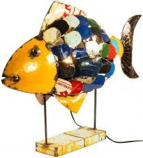 Tischlampe/Tischleuchte Iron Fish