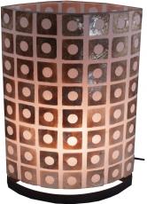 Tischlampe / Tischleuchte Namuno 30cm, 40cm, Set - in Bali handgemacht aus Naturmaterial, Capiz / Perlmutt