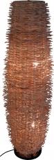 Stehlampe / Stehleuchte Rinca- in Bali handgemacht aus Naturmaterial, Rattan,