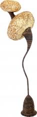 Stehlampe / Stehleuchte Kokopelli Hulo Floor 100 cm - exotische Leuchte aus Natur-Material