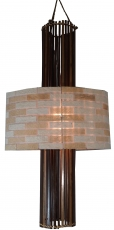 Deckenlampe / Deckenleuchte Acadia - in Bali handgemacht aus Naturmaterial, Kokosfaser,