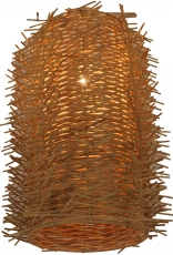 Deckenlampe / Deckenleuchte Capriano - in Bali handgemacht aus Naturmaterial, Rattan,