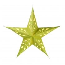 Faltbarer Advents Leucht Papierstern, Weihnachtsstern Durian