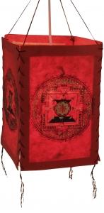 Reispapier Hängelampenschirm - Mandala