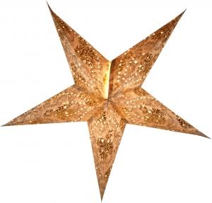 Faltbarer Advents Leucht Papierstern, Weihnachtsstern Antaris nature