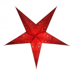 Faltbarer Advents Leucht Papierstern, Weihnachtsstern Silijan
