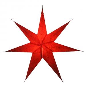 Faltbarer Advents Leucht Papierstern, Weihnachtsstern Ikarus