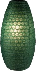 Ovaler Lokta Papierlampenschirm, Hängelampe Corona