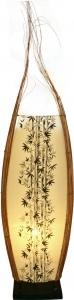 Tischleuchte / Tischlampe Batavia - in Bali handgemacht aus Naturmaterial