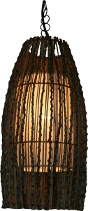 Minora Deckenlampe / Deckenleuchte - in Bali handgemacht aus Naturmaterial