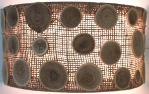 Wandlampe / Wandleuchte Girona - in Bali handgefertigt aus Naturmaterial, Sisal,