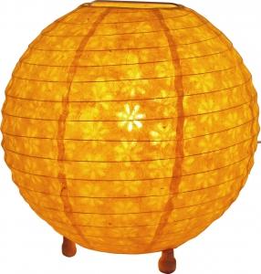 Corona round Reispapier Stehlampe 25 cm