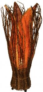 Tischlampe / Tischleuchte `Flores` - in Bali handgemacht aus Naturmaterial
