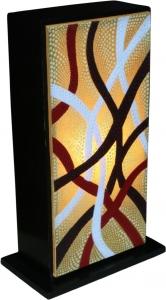Tischlampe/Tischleuchte Tasmania - 3 - in Bali handgemachte exotische Stimmungsleuchte