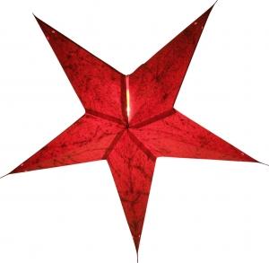 Faltbarer Advents Leucht Papierstern, Weihnachtsstern Zaratustra