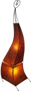Henna - Leder Stehlampe / Stehleuchte Mauretania 160 cm